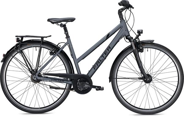 "Falter City/Urbanbike C 6.0 Trapez S (44) 28"" Matt anthrazit"