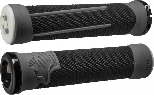 ODI MTB Griffe AG-2 Signature Lock-On 2.1 schwarz-graphit