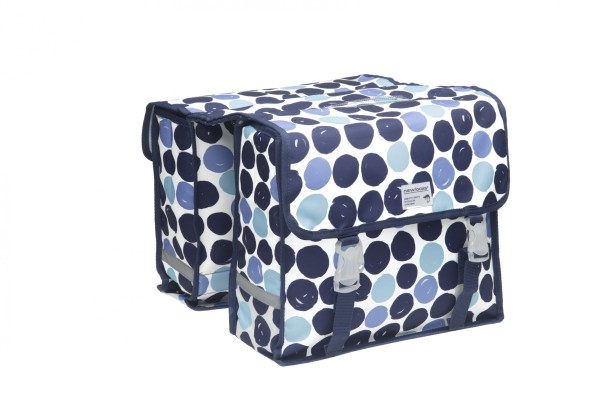 New Looxs Fiori Double Double Bag Dots Blue