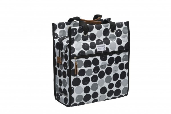 New Looxs Lilly Bicycle Bag Dots Black