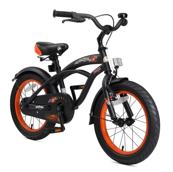 bikestar premium kinderfahrrad cruiser 16 zoll teuflisch. Black Bedroom Furniture Sets. Home Design Ideas