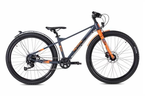 S´COOL XXLite 27,5 Evo Alluminium 9-Gang grey/ orange matt