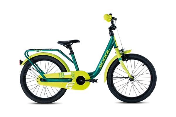 S´COOL niXe 18 Stahl 1-Gang green/lemon