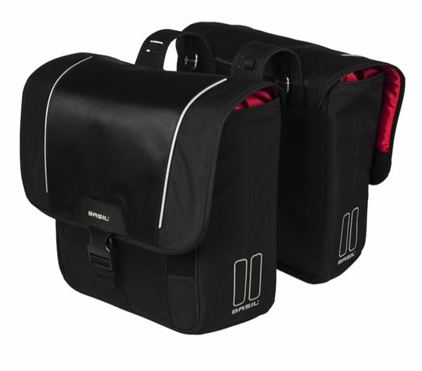 Basil Sport Design double pannier black