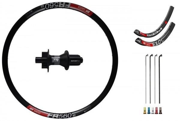 """DT Swiss 370 Disc IS Custom Rear Wheel MTB 26"""""""