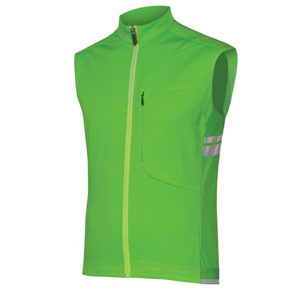 Endura Windchill Gilet Weste neon grün