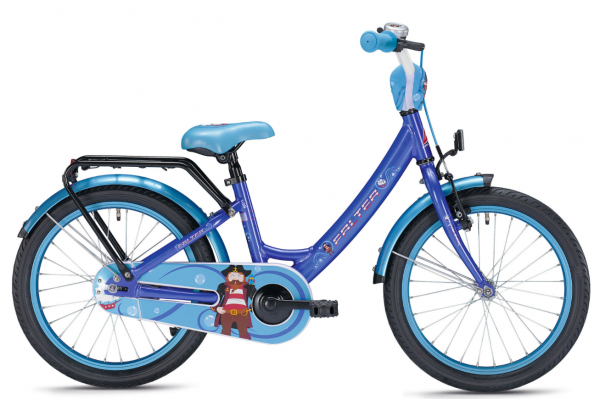 Falter Pirat 18 inch blue/red Children Bike