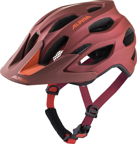 Alpina Carapax 2.0 Helmet indigo-cherry drop