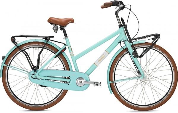"Falter Classic Bike L 4.0 28 ""glossy, turquoise"