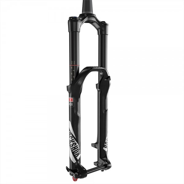 "Rock Shox Yari RC 27.5""+/29"" Boost Solo Air - matte black - 51mm Offset"