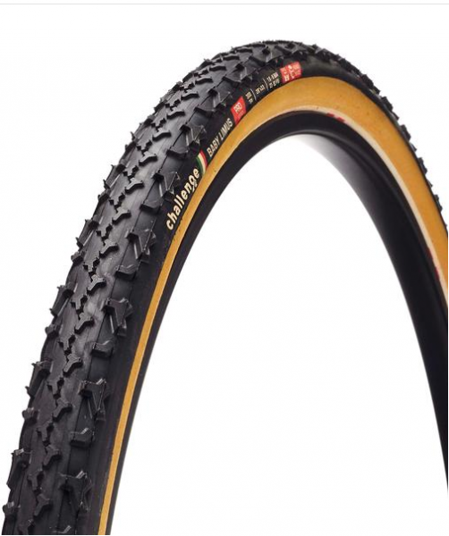 Challenge Baby Limus Cross Tubular black / brown - Cyclocross Tyre