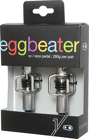 Crank Brothers Eggbeater 1 silber/schwarz