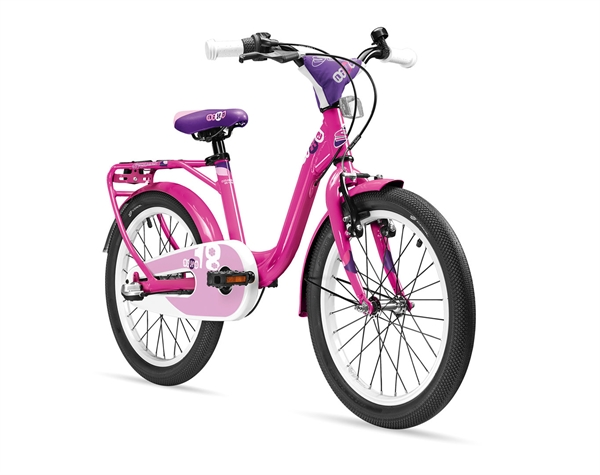 S´COOL niXe 18 alloy 1-speed pink