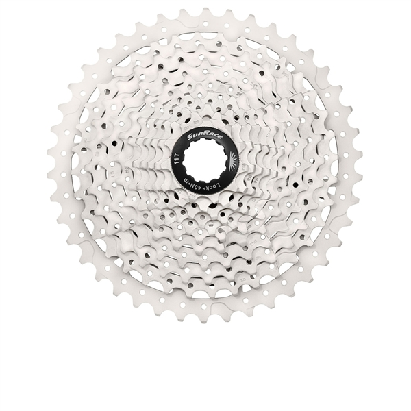 Sunrace Cassette CSMS3 10-speed 11-40 Black