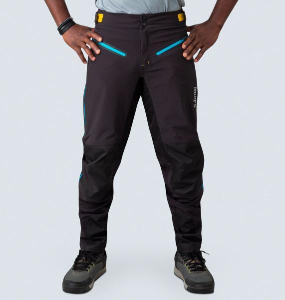 Dirtlej trailscout waterproof long black/blue