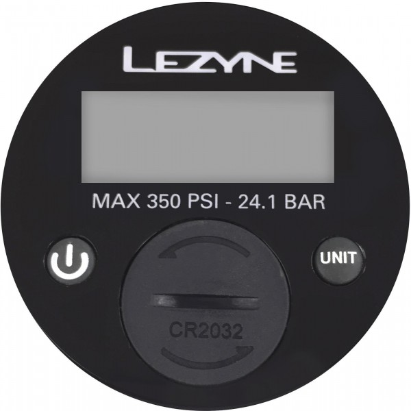 "Lezyne Manometer (350psi) 2,5"" Digital"